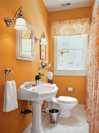 small bathroom decorating ideas color finish stained plastering