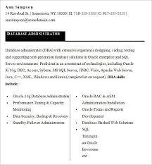 Sql Server Developer Resume Sample Resume Sample Oracle Dba Resume     Best Resume Template John Paredes br   Pittsburgh  PA       br