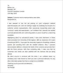 Customer Service Representative Cover Letter Example icover uk for     My Document Blog Customer Service Representative Cover Letter for Customer Service Rep Cover Letter