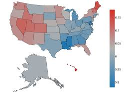 United States Map Delaware by Where Is The Happiest City In The Usa