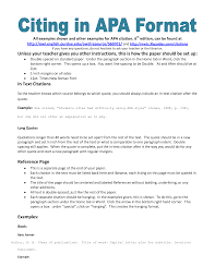writing a term paper example of apa citation in paper apa citation handout writing mla style papers step by step instructions for formatting research papers mla style formatting is mostly used for papers written in humanities and liberal