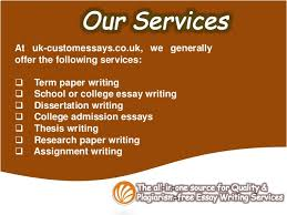 Uk custom essays the home of professional quality writing services