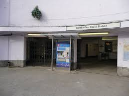 Wimbledon Chase railway station