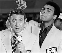 Cosell with Muhammad Ali