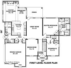 excellent bedroom open floor plan house plans single floor small