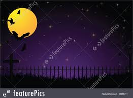 scary moon background spooky graveyard background