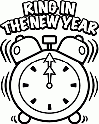 happy new year 2017 coloring pages kids aim