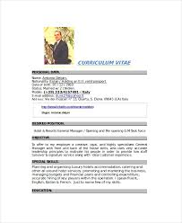Senior Hr Manager Resume Sample by Catering Resume Template 6 Free Word Pdf Documents Download