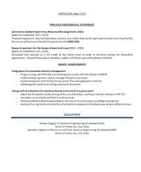 Engineering Resume Examples  test engineer resume software test     Inspirenow sample electrical engineering resume for career objective with professional experience as electrical engineer in way industries