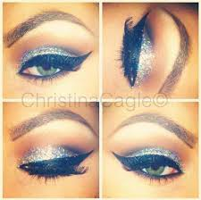 makeup ideas for cheerleading competition cheer glitter eye