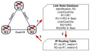 Proses Discovery dari Routing Link-State