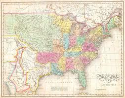 A Map Of America by John Melish Wikipedia
