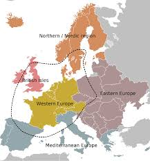 Map Of Western Europe by Atlas Of Europe Wikimedia Commons