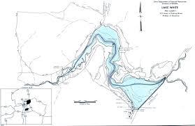 Southeast Map Lake White Fishing Map Southeast Ohio Go Fish Ohio