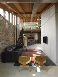 architecture rustic brick wall ideas to enhance small lounge of