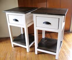 Free Woodworking Plans Round Coffee Table by Ana White Build A Mini Farmhouse Bedside Table Plans Free And