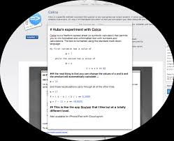 Ipad Spreadsheet Calca U2013 A Must Have Free Form Spreadsheet Symbolic Calculator
