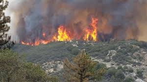 Wildfire Containment by Rough Fire At More Than 77 000 Acres 25 Percent Containment