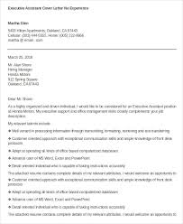 Executive Cover Letter Example happytom co