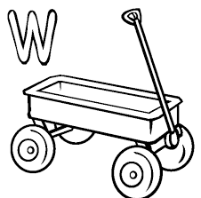 red wagon coloring page kids drawing and coloring pages marisa