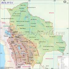 Spanish Speaking Countries Blank Map Quiz by Bolivia Map Map Of Bolivia