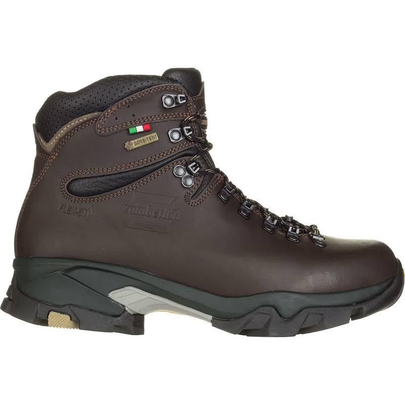 Zamberlan Vioz GTX Backpacking Boots Dark Brown Medium 6.5 0996DBW-Medium-6.5