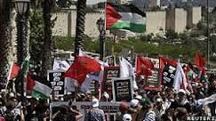 Israelenses e palestinos se unem em manifestação por ...