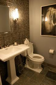 Wallpaper In Bathroom Ideas Great Powder Room Lighting Ideas 18 In Wallpaper Hd Home With