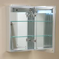 Bathroom Mirror Design Ideas Lighted Bathroom Mirror Cabinet Universalcouncil Info