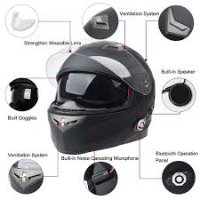 open face motocross helmet fdc bluetooth integrated modular flip up dual visor full face