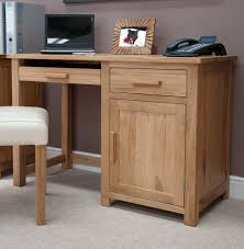 Solid Oak Office Furniture by Wood Office Desk Added For Extra Comfort In Finishing Project