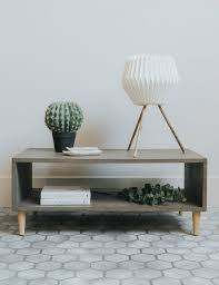 Retro Sofa Table by Best 20 Concrete Coffee Table Ideas On Pinterest Outdoor