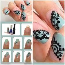 20 gorgeous lace nail art tutorials nail design ideaz