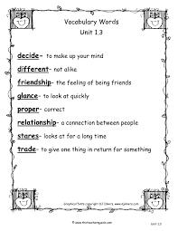 Tlsbooks English Worksheets Second Grade Vocabulary Worksheets Worksheets Reviewrevitol Free