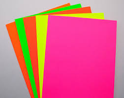 Image result for neon paper