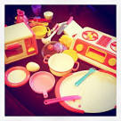 """Party Queen"""" play cooking toys from the 80's • by Royal Co. Ltd ..."""