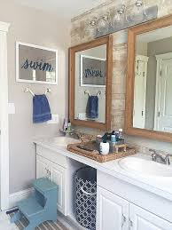 Beach Bathroom Decor Ideas Colors Best 25 Coastal Inspired Bathroom Mirrors Ideas On Pinterest