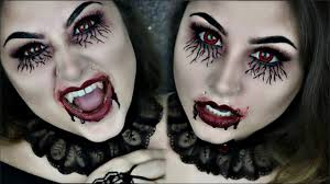 vampire diaries inspired vampire makeup for halloween