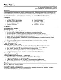 12 Amazing Transportation Resume Examples Livecareer by Account Manager Resumes Account Manager Cv Example 8 Account