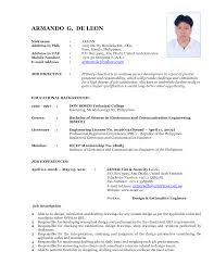 Sample Resume Format Usa by Network Engineer Resume Nowadays Becomes So Popular It Is Because