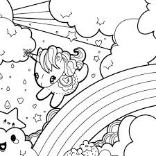 best rainbow unicorn coloring pages 59 for free coloring book with