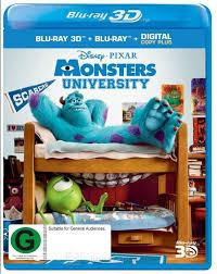 Monsters University [BD25 2D + 3D]