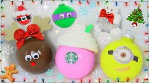 Christmas Decorations Diy by 6 Diy Easy Christmas Tree Ornaments Christmas Tree Decor Youtube