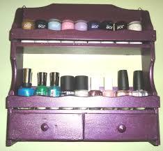 31 diy racks for nail polish display guide patterns