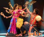 Tollywood Bengali Actress KOYEL MULLICK Plays Goddess Durga on