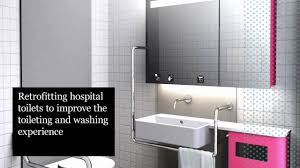design for patient dignity capsule washroom and smart mirror