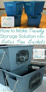 dollar store home decor ideas caroline vencil this makeover turns dollar tree baskets into trendy storage get organized with this easy diy
