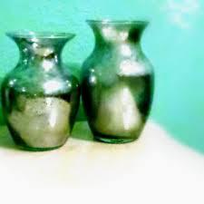 Decorative Glass Vases Shop Silver Mercury Vases On Wanelo