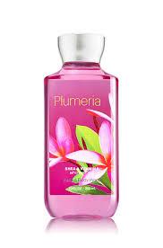 amazon com bath and body works plumeria shower gel 10 ounces