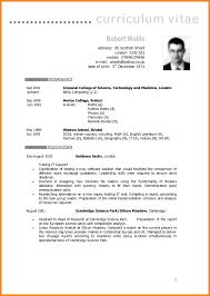 personal trainer resume examples 8 english cv examples reporter resume english cv examples sle cv english instructor personal trainer resume exle hobbies manhattan skin jpg